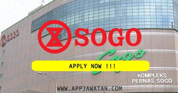 Jawatan Kosong Terkini di SOGO (K.L.) Department Store Sdn Bhd