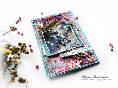 Mess-открытки, Коты, открытка с котами, гранж, яркая открытка, открытка своими руками