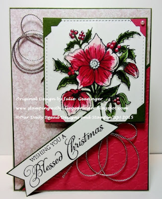 Our Daily Bread Designs, Christmas Rose, Blessed Christmas, Heart and Soul Paper Collection