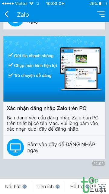 Thủ thuật cài đặt sử dụng Zalo trên laptop