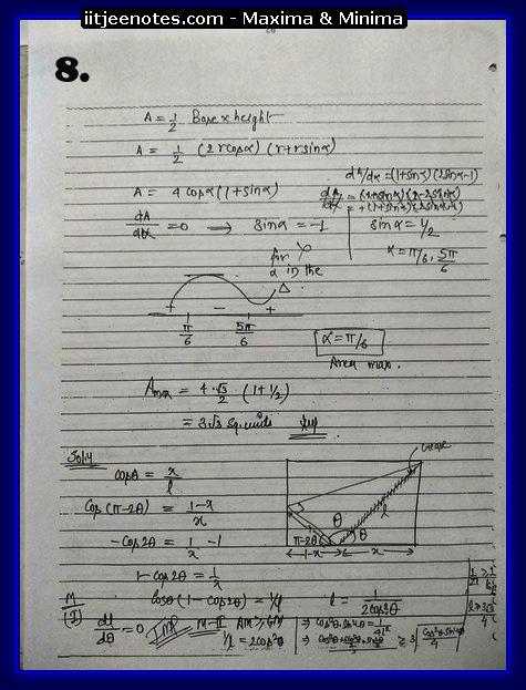 maxima and minima notes6