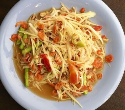 Salad Buah Pepaya