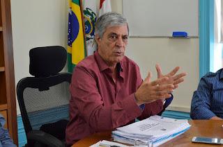 """Prefeito Mario Tricano: """"Foi feito um estudo e a situação é calamitosa. Estamos trabalhando de segunda a segunda e Deus vai nos capacitar para resolvermos os problemas"""""""