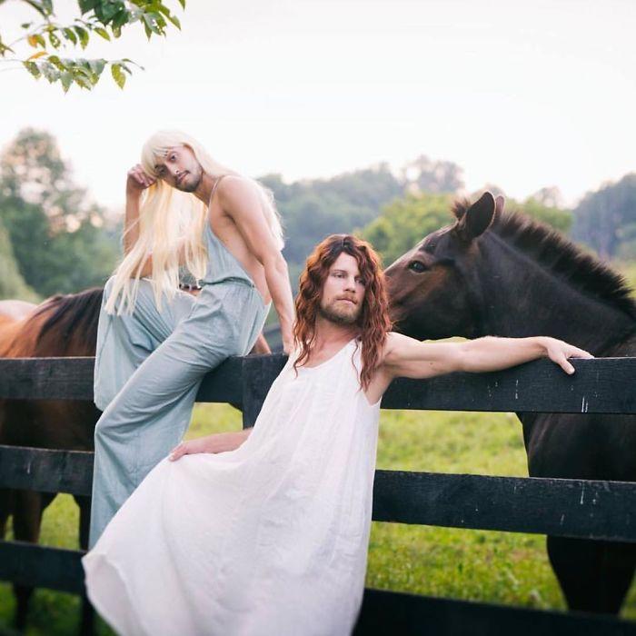 Homens decidem imitar as mulheres no Instagram