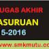 Kerja Proyek Multimedia dan TKJ SMK MUTU Pasuruan (2016)