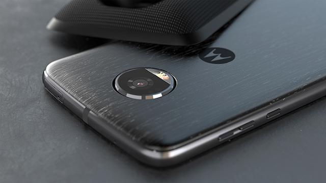 Motorola Moto Z2 Play Grab August 2018 Security Patch