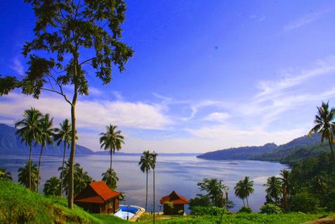 terletak pada perbatasan Kabupaten Lampung Barat Provinsi Lampung dan Kabupaten Ogan Kome Danau Ranau Yang Jauh Dari Polusi