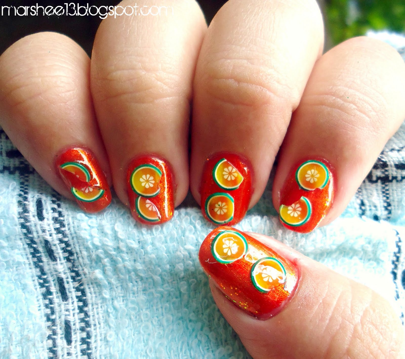 Prettyfulz Fall Nail Art Design 2011: Steve Jobs Store: Random Nail Designs -part2