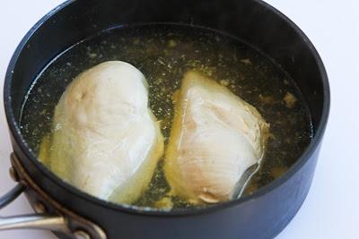 Spicy Cabbage Slaw with Chicken and Cilantro found on KalynsKitchen.com
