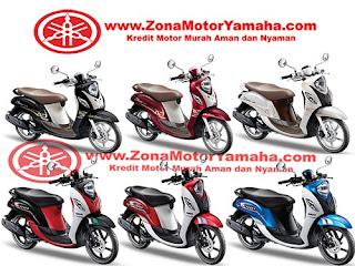 Harga Kredit Motor Yamaha Fino 125 Blue Core untuk wilayah Jakarta, Bogor, Depok, Tangerang dan Bekasi.