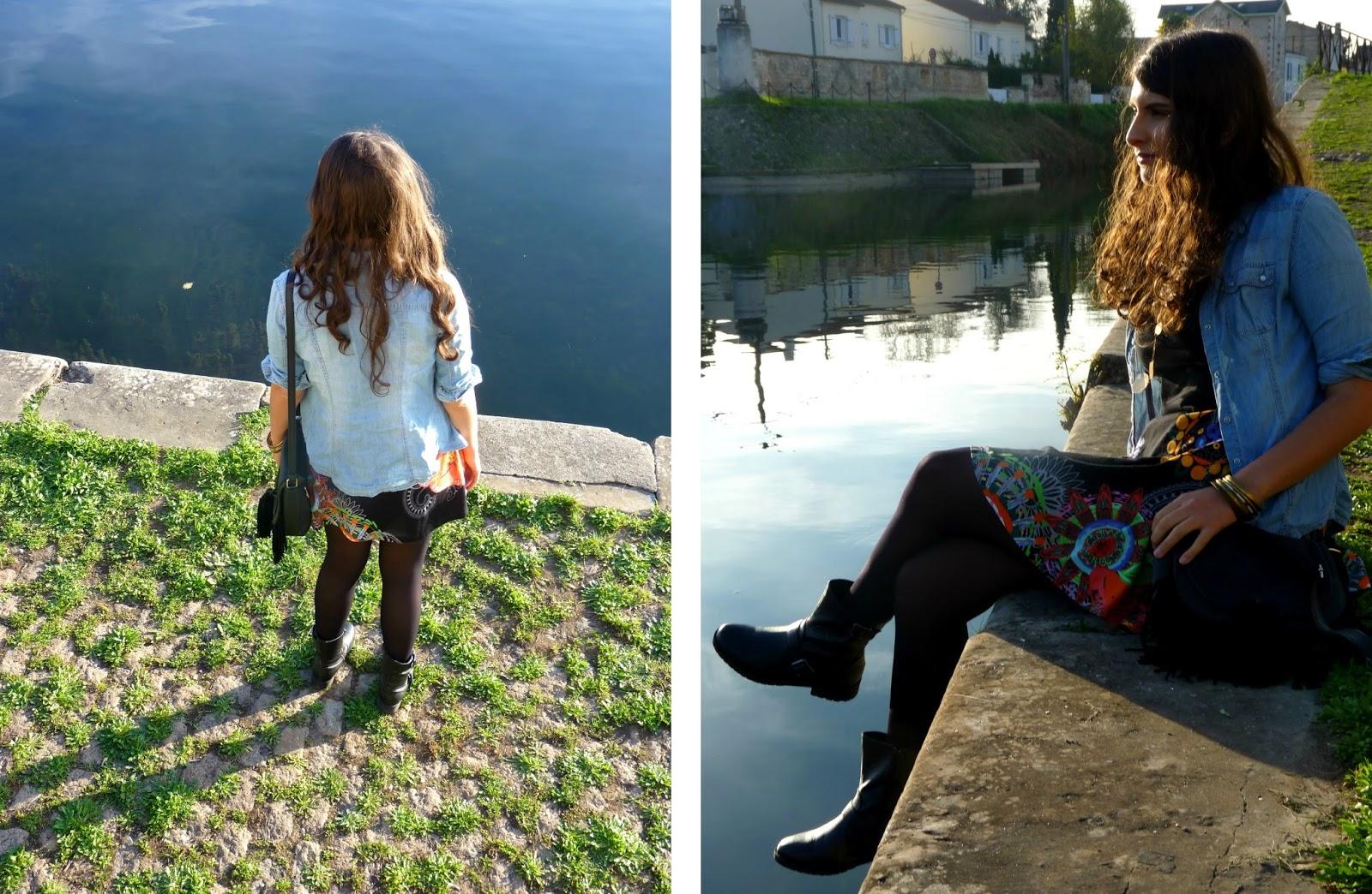 Look avec Coton du Monde à Niort
