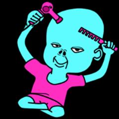 Alien baby 8