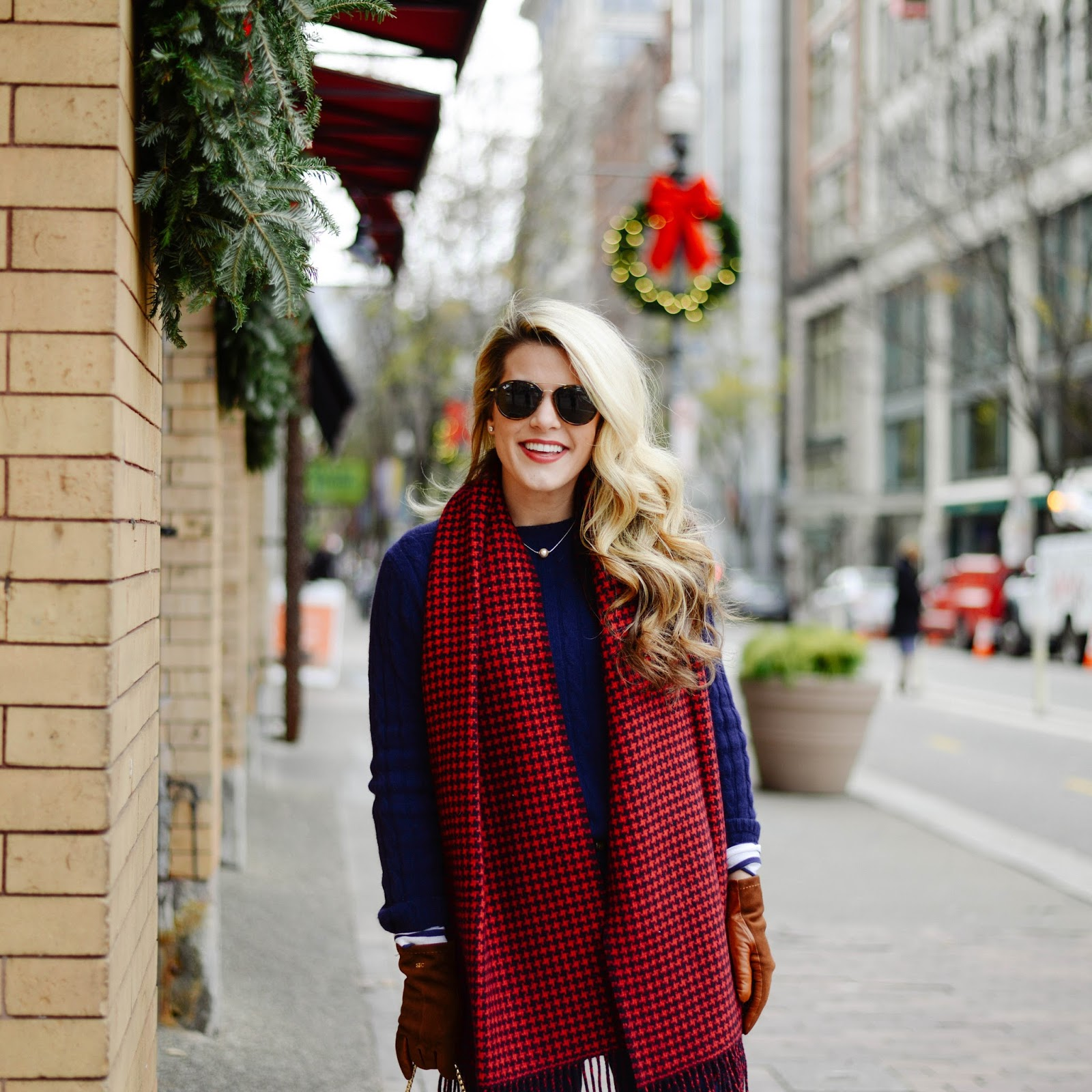 Summer Wind: Navy + Red Outfit Inspo And Monogrammed