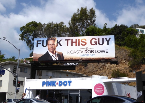 Roast of Rob Lowe 2016 billboard