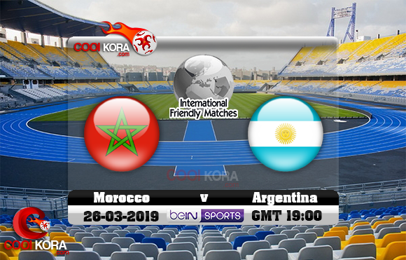 مشاهدة مباراة المغرب والأرجنتين اليوم 26-3-2019 مباراة ودية