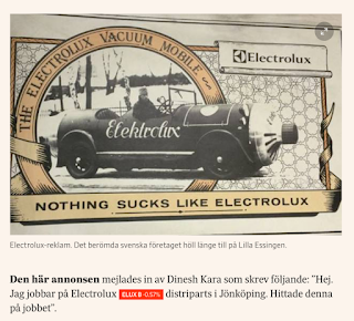 Nothing sucks like Electrolux