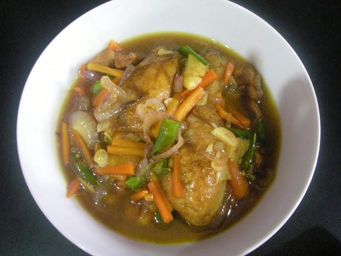 Resepi : Ayam masak tiram halia