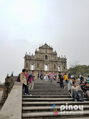 The Ruins of Saint Pauls Macau China