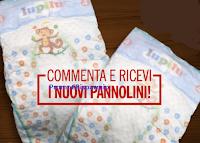 Logo Commenta e vinci gratis i Pannolini Lupilu
