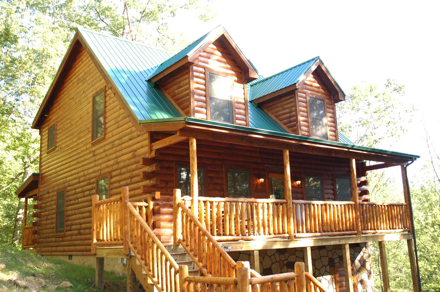 tn gatlinburg copper cabins pigeon htm forge river cabin in pool