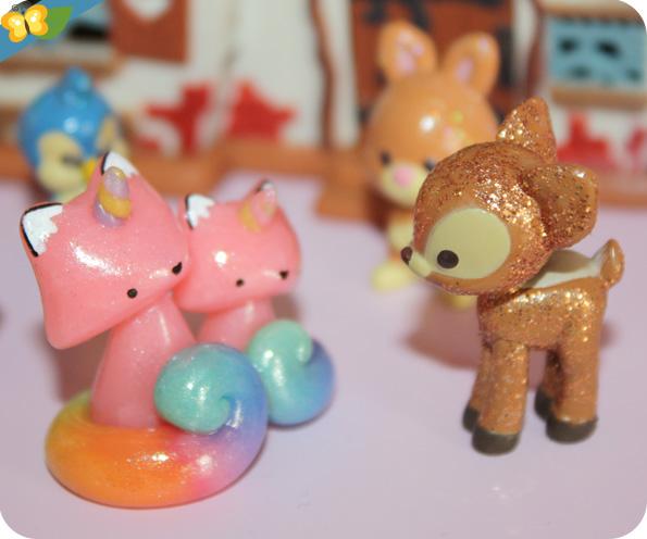 Les adorables petits renards de Madame Manon
