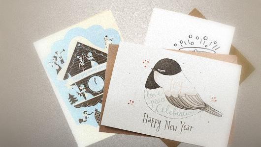50 Creative New Year Card Designs For Inspiration Jayce O Yesta