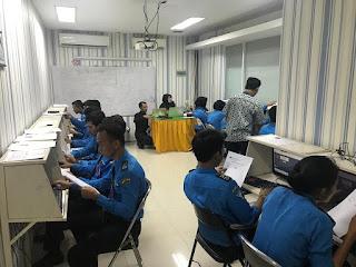 ujian negara avsec PSPP Jakarta