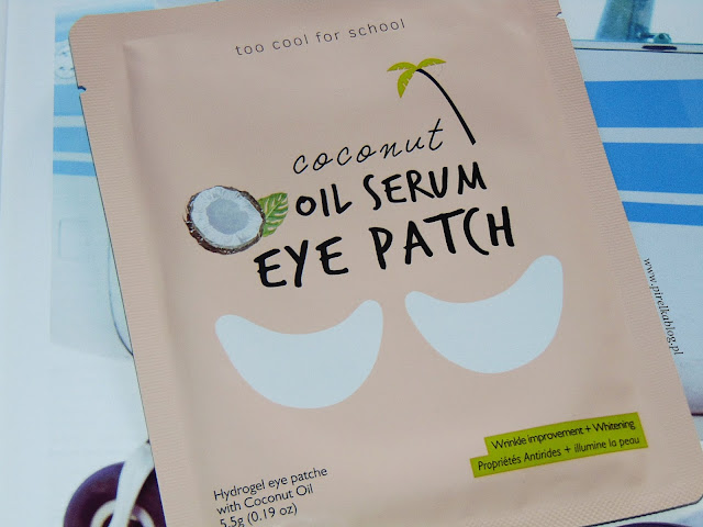 Coconut Oil Serum Eye Patch - Płatki pod oczy z olejkiem kokosowym | Too Cool For School