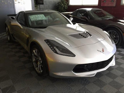 2017 Chevy Corvette at Purifoy Chevrolet Near Denver