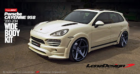 Porsche Cayenne 958 Wide Body Kit