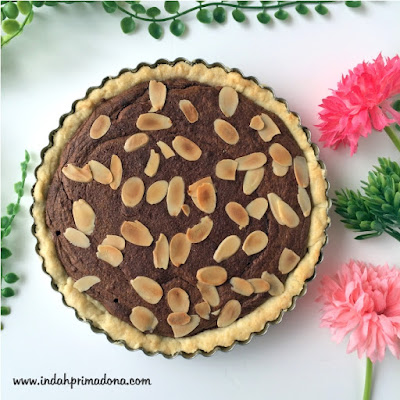resep pie brownies mudah, pie brownies enak, pie brownies, aneka pie, apple pie, indahprimadona.com