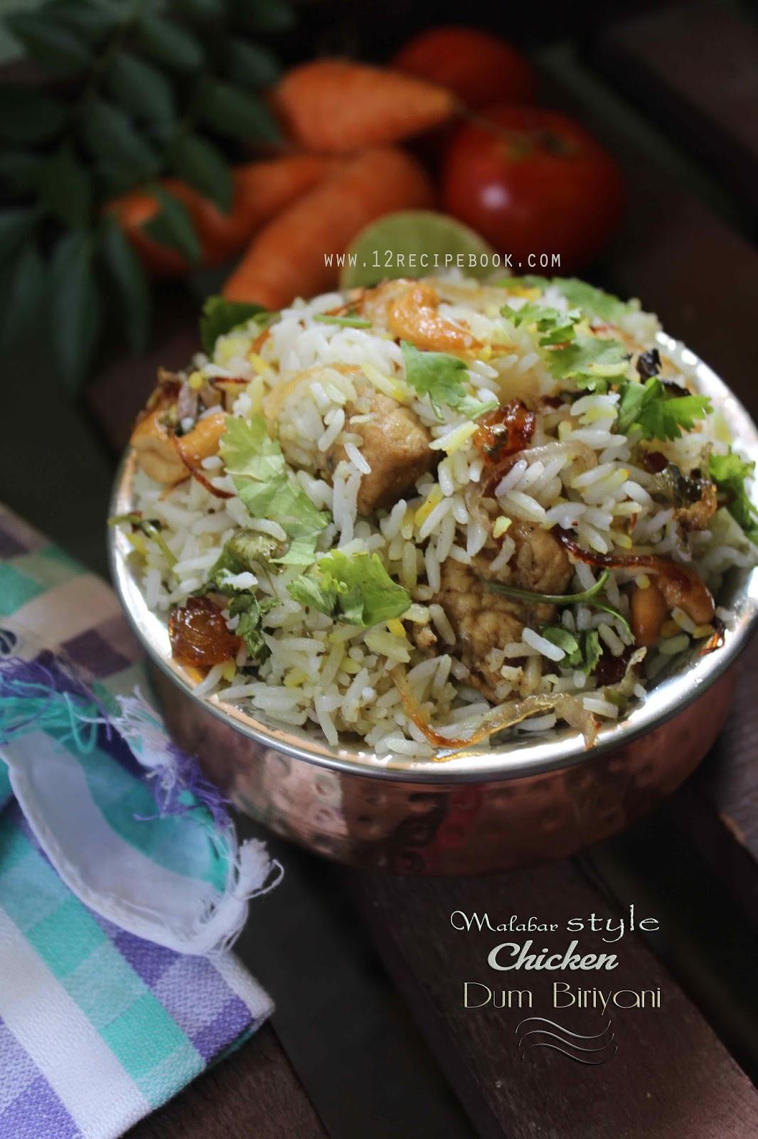 Malabar Style Chicken Dum Biriyani