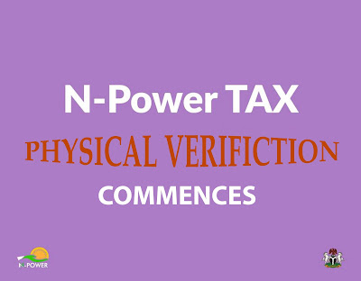 NPOWER NTAX Physical verification Commences Npower latest news