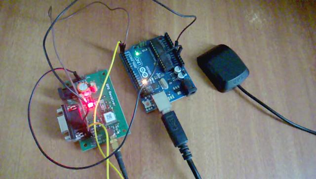 Gps receiver using arduino mechatrofice
