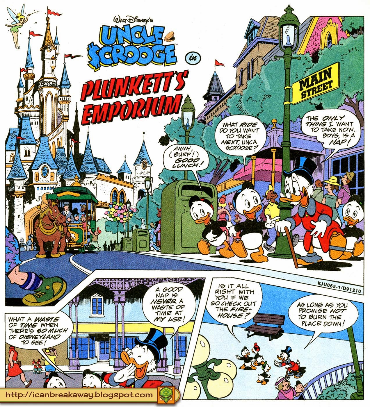 I Can Break Away The Disney Comics Story The