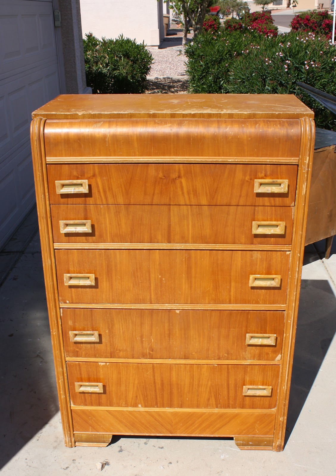 Diligentdesigner Waterfall Chest Of Drawers Makeover