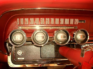 1965 Ford Thunderbird Luxury Coupe Speedometer