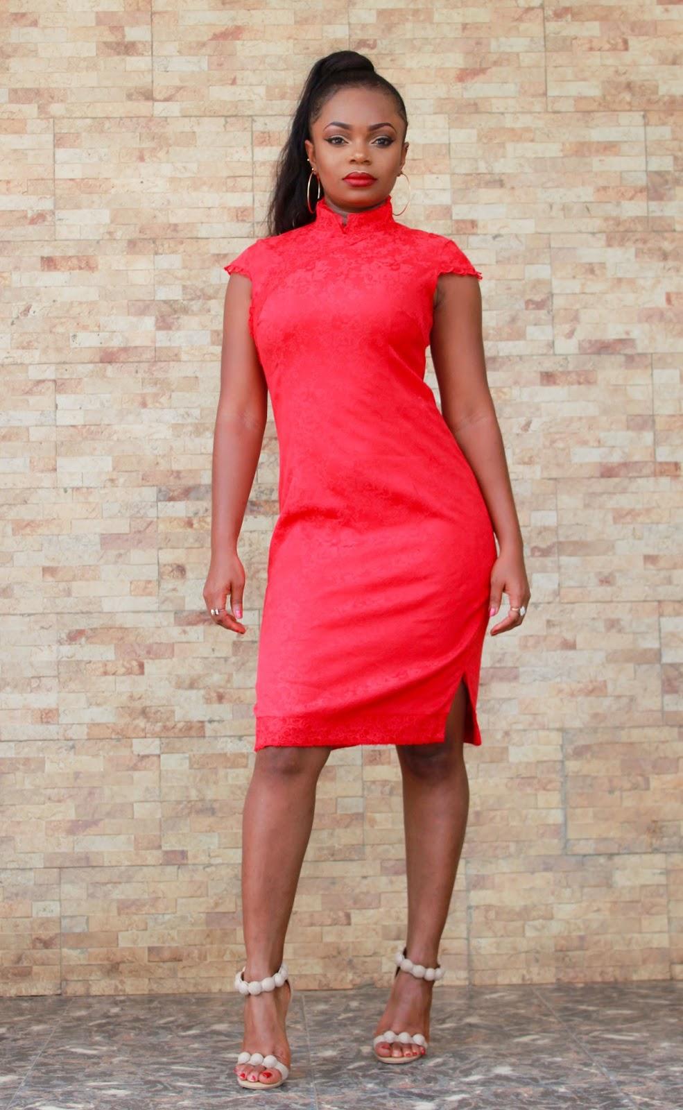 GEISHA STYLE DRESS