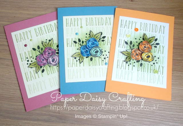 Perennial birthday from Stampin' Up!