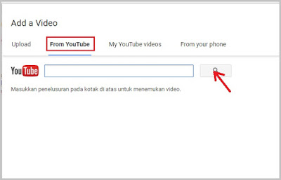 Cara Upload Video di Blog