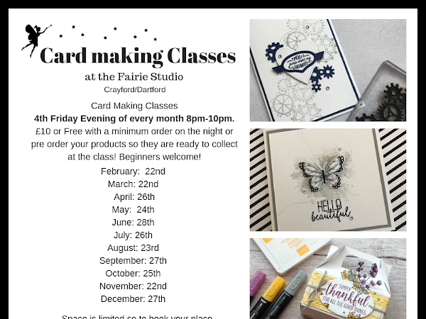 Card Making Classes