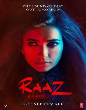 Poster Of Raaz Reboot 2016 Hindi 150MB DVDScr HEVC Mobile Watch Online Free Download