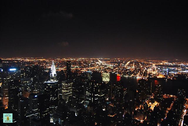 Vistas desde el Empire State Building, Nueva York