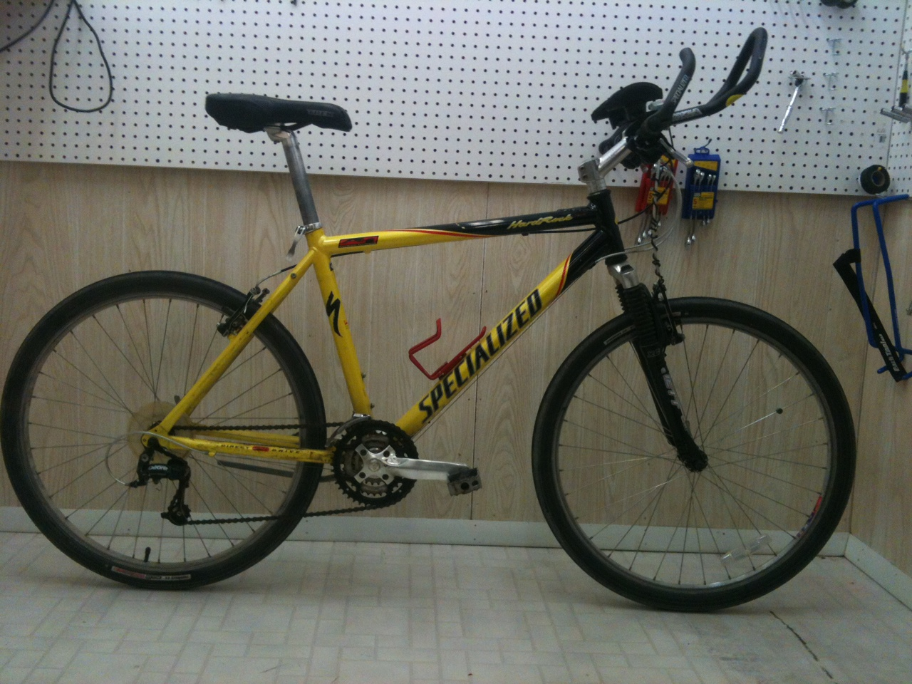 John's Bicycle Restorations: Customers Specialized Hardrock