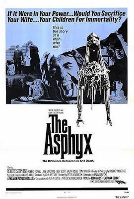 Asfixia, Robert Stephens, Robert Powell, Peter Newbrook, The Asphyx