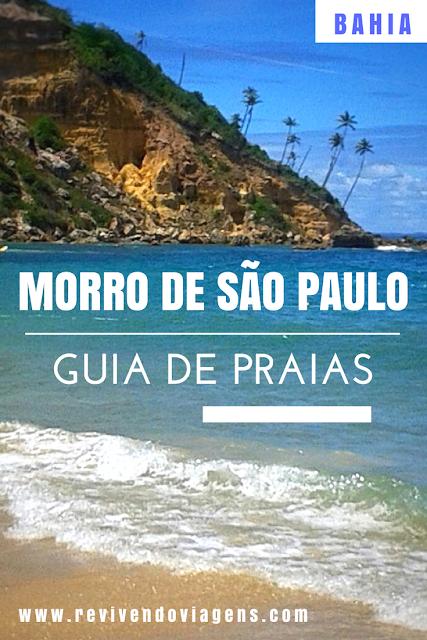 As praias de Morro de São Paulo