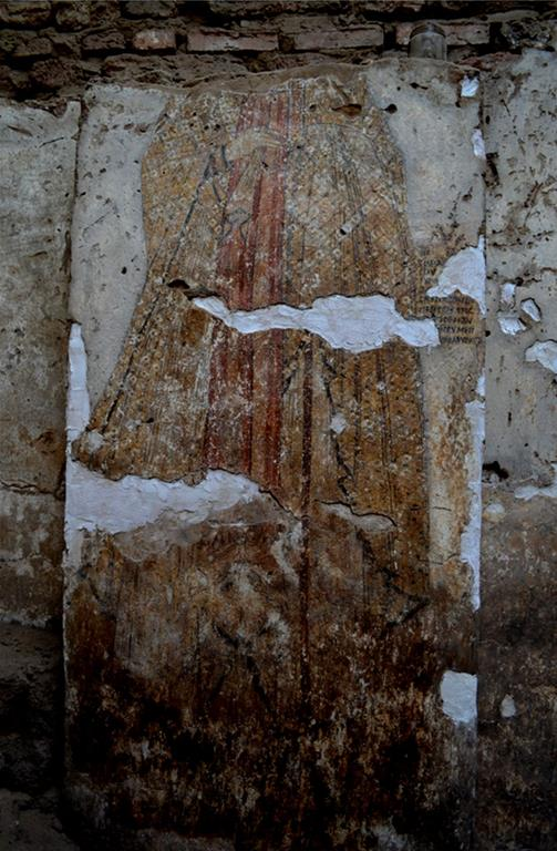 Painted Medieval church walls discovered in Northern Sudan