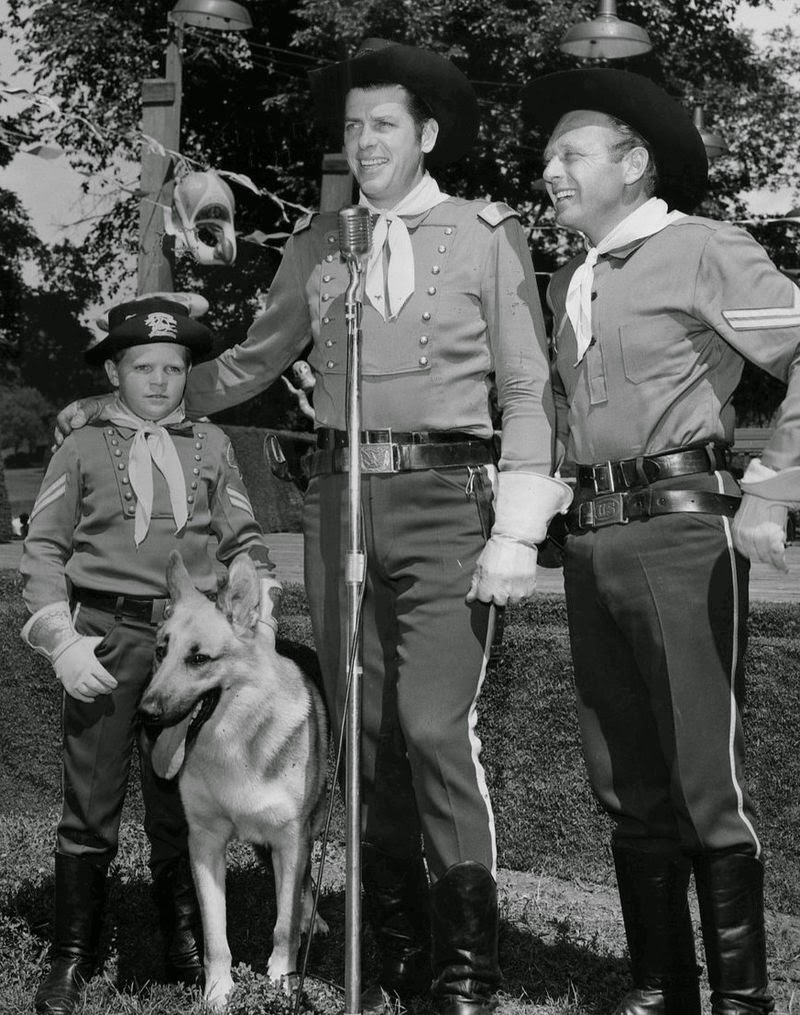 As Lt Rip Masters In The Long Running ABC Childrens Western Series THE ADVENTURES OF TIN Which Aired Every Friday Night From 1954 To 1959