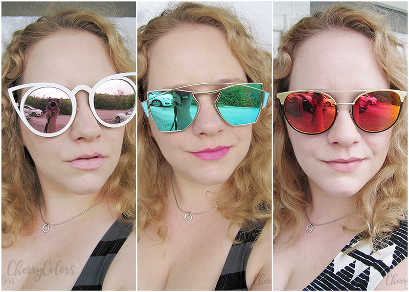 8813ae2258b Three of the items I picked up are these amazing looking sunglasses that make  every damn look
