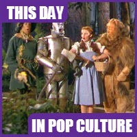 Wizard of Oz debuted on August 15, 1939.